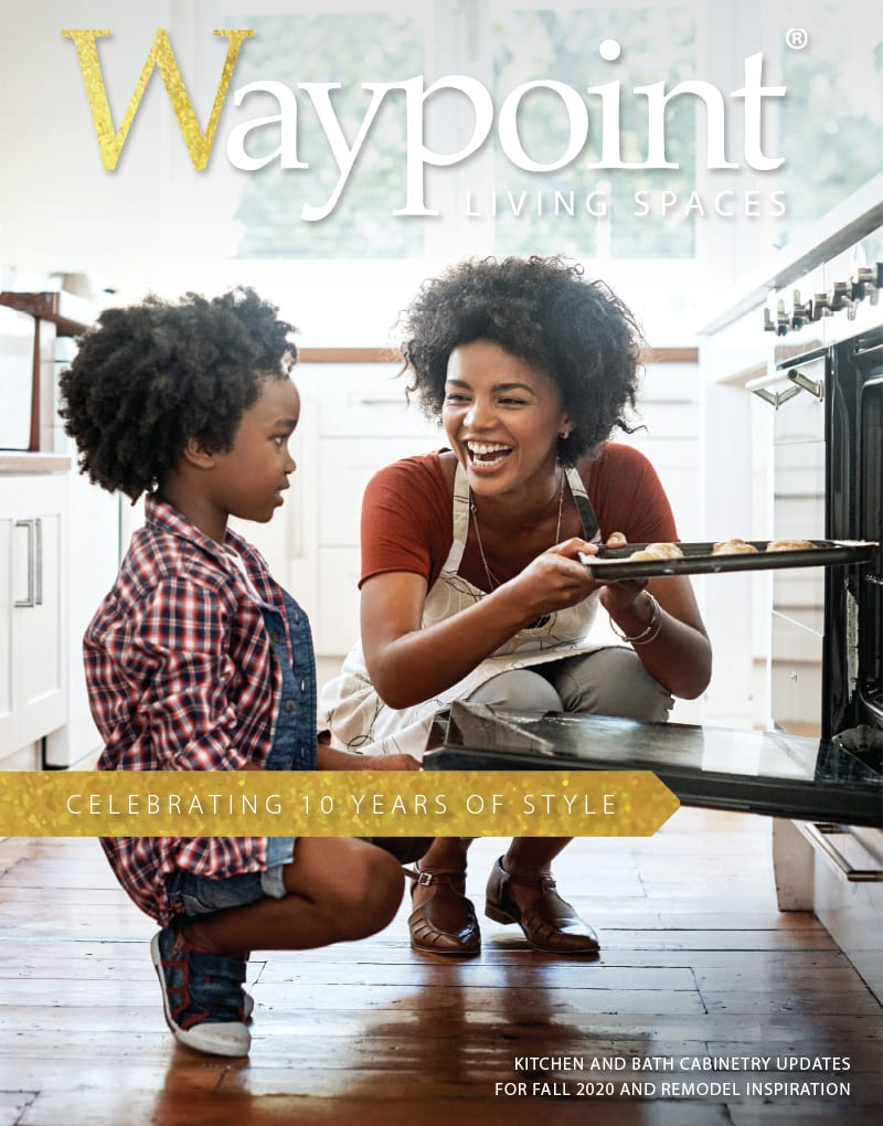 Waypoint Fall 2020 Kitchen and Bath Cabinetry Updates
