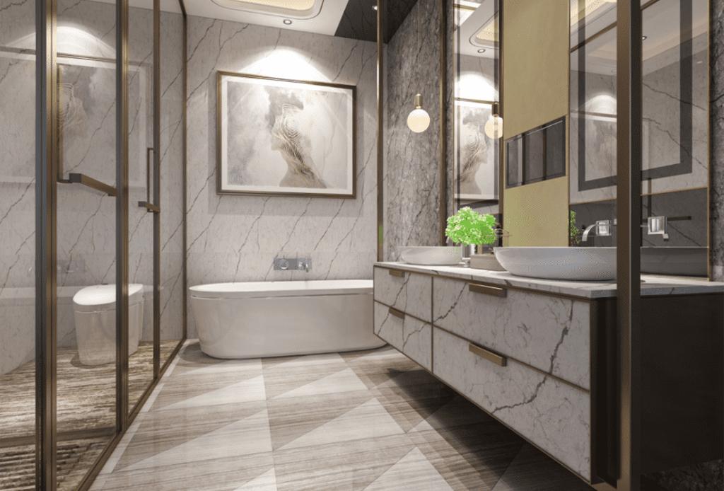 pental quartz luxury spa bathroom remodel 1024x694